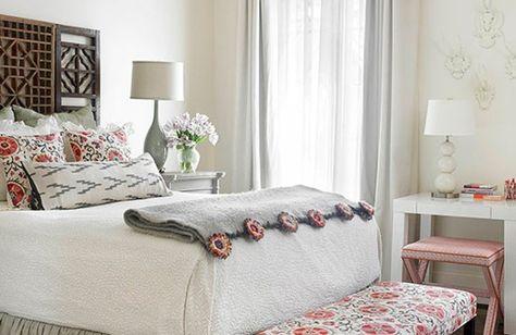 Farbideen Schlafzimmer Einrichten Dunkle Wand Bett | Colores