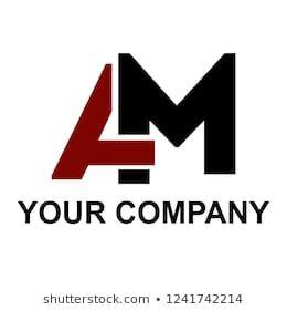 Am Ma Initials Letter Company Logo Monogram Logo Design Cool