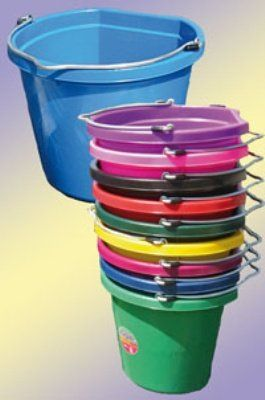 Fortiflex Flat Back Feed Bucket for Dogs//Cats /& Small Animals 20-Quart Hot Pink