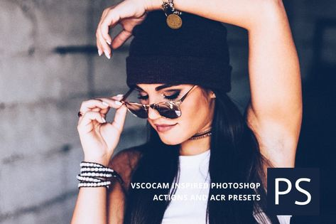 VSCOcam inspired Photoshop Actions by BeArt-Presets on @creativemarket