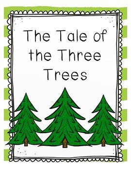 The Tale Of Three Trees Literacy Center Worksheets Easter
