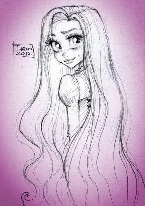 Disney Princess Rapunzel by darkodordevic.deviantart.com on @deviantART