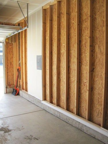 How To Finish A Garage How We Insulated And Drywalled Our New Garage With Images Garage Door Opener Installation Garage Door Design Garage Insulation Diy