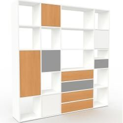 Regalsystem Buche Flexibles Regalsystem Turen In Buche Hochwertige Materialien 118 X 157 X 35 In 2020 Shelving Shelving Unit Home Decor
