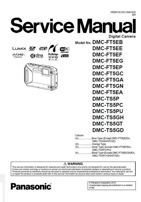 54 Panasonic Lumix Camera Service Manual ideas in 2021