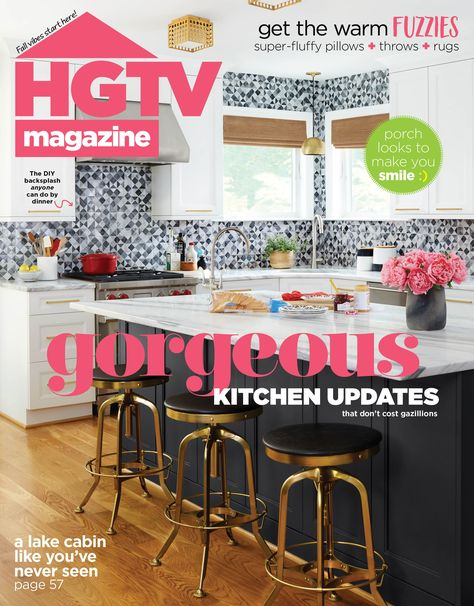 Grab a copy ASAP for gorg kitchen updates, the best (fuzzy!) fall accessories and more.