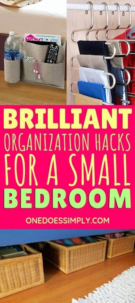 Bedroom Organization Diy Ideas Thoughts 67 Ideas Diy Bedroom