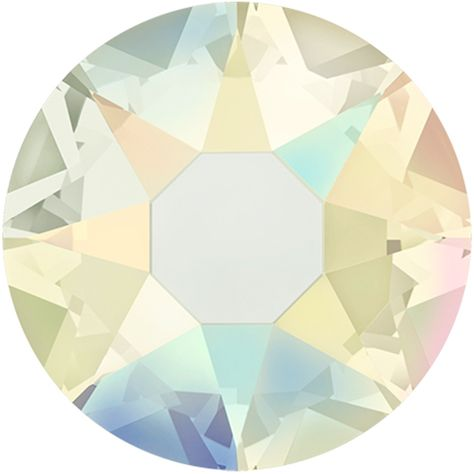 2038 /& 2078 Swarovski® Hotfix Crystals Flatback Jonquil AB 2000