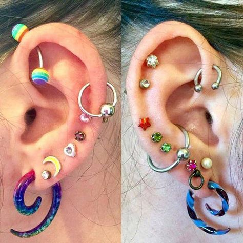 Who stops after a single ear piercing? The world is full of exciting fashion ideas, and thus why must ear piercings be of any exception? Here are some unexpected yet cute ear piercings ideas for you to embrace and love.