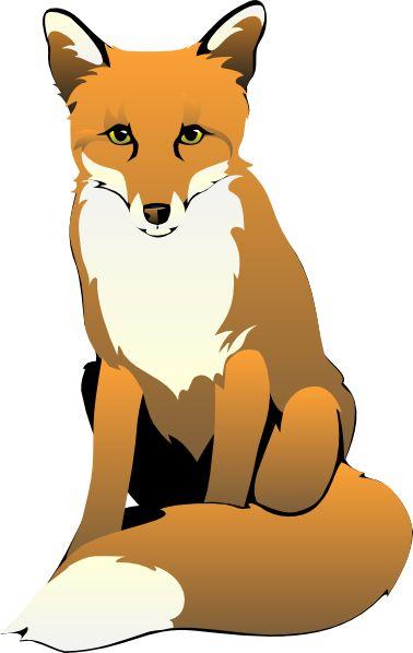 Fox Sitting Clip Art Downloading Fox Art Fox Drawing Art Clipart
