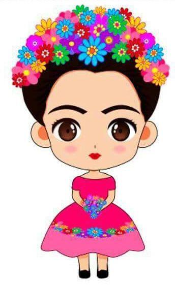 Frida Kahlo Cartoon Google Search Frida Kahlo Caricatura Frida Kahlo Dibujo Imagenes De Frida Kahlo