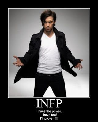 INFP power!  I love this.