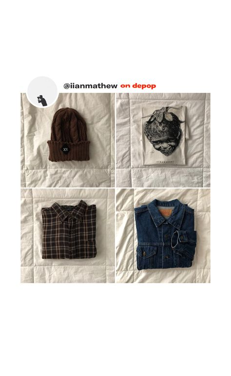 c8afcb3835a Depop sale! Designer trendy items for cheap just in time for the fall  season 🍂🍁  thrift  hip  hipster  bundle  sweaters  jackets