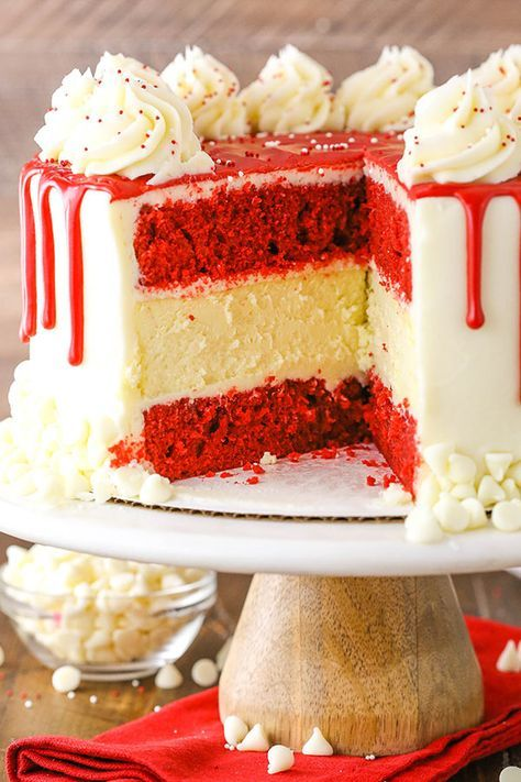 Red Velvet Cheesecake Cake Classic Red Velvet Recipe Recipe Red Velvet Cheesecake Cake Red Velvet Cake Recipe Cheesecake Cake