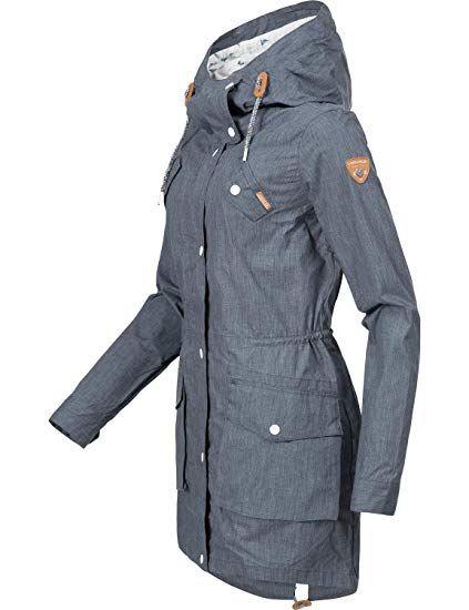 Damen Ym Ragwear 7 Xs Mantel Übergangsmantel Clancy Farben 3RLq5j4A