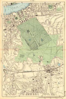 Cornhill Threadneedle St A Plan Of The 1765 Bishopsgate Street Fire 1834 Map