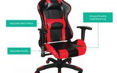 Professional Best Ergonomic Gaming Chair For Racing Game Background Music