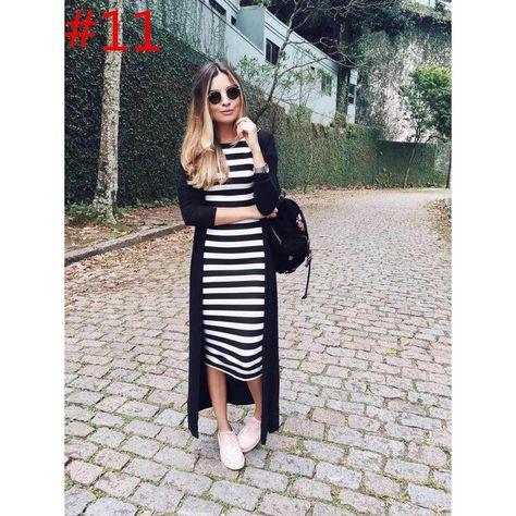 my kinda style - Jessica Velasco - vestido_midi_listrado