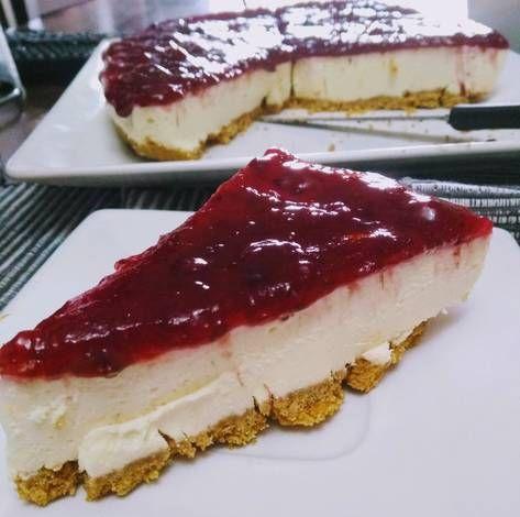 Cheesecake Sin Horno Receta De Leila Leguizamon Receta Cheesecake Sin Horno Cheesecake Recetas De Comida