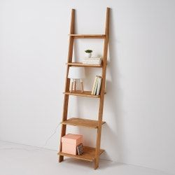 Quilda Vintage Glass Wall Shelving Unit In 2020