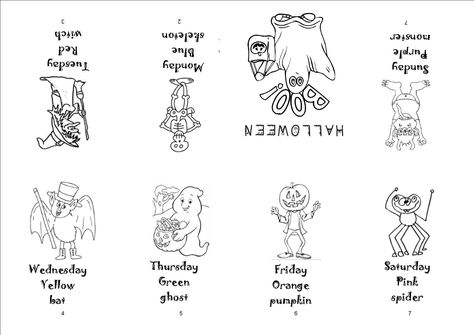 Mini Livre Halloween La Classe De Mamaicress Classecpad