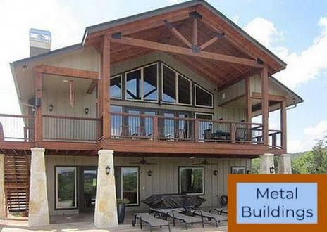 Metal Building Systems Information And Articles Amp Projects And Metal Buildings With Living Quarters Metal Building House Plans Metal Building Homes Metal House Plans