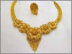 H K Dutta Jewellers Gold Necklace Designs Bridal Gold Jewellery Gold Necklace Indian Bridal Jewelry