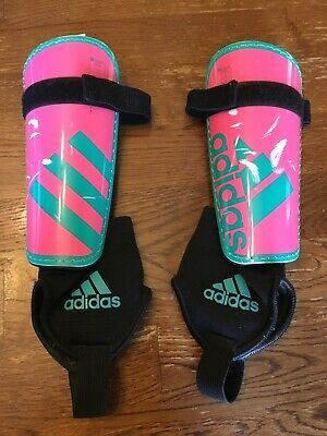 Advertisement Ebay Adidas Soccer Hard Shin Guards Size Youth Large Ages 10 13 Pink Teal Adidas Soccer Sports Team Youth Soccer