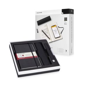 Paper Tablet Smart Notebook 1 Red Smart Pen Moleskine Pen Case