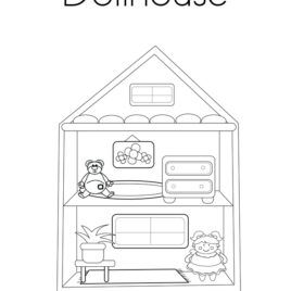 Dollhouse House Colouring Pages Adult Coloring Pages Coloring