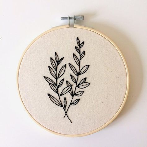 This item is unavailable Simple Embroidery Designs, Hand Embroidery Projects, Hand Embroidery Stitches, Embroidery For Beginners, Embroidery Hoop Art, Geometric Embroidery, Embroidery Suits, Embroidery Patterns Free, Modern Embroidery