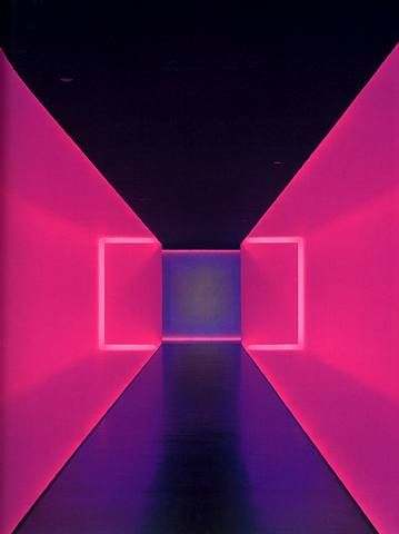 """This feels so hypnotic James Turrell """"The light inside"""" Houston museum of Fine Art James Turrell, Art Conceptual, Collage Kunst, Houston Museum, Instalation Art, Licht Box, Hr Giger, Photocollage, Light And Space"""