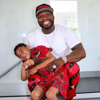 50 CENT CELEBRATES SON SIRE JACKSON'S BIRTHDAY
