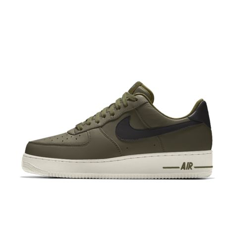 Chaussure personnalisable Nike Air Force 1 By You | Personnaliser ...