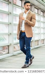 Indian Men Fashion Stock Photos, Images & Photography