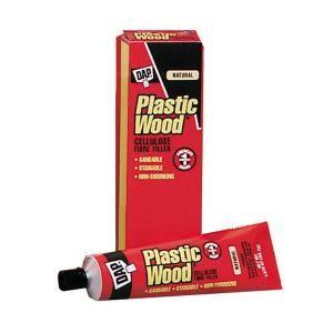 Dap Plastic Wood 1 87 Oz Natural Solvent Wood Filler 21510 Diy