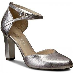 top fashion site autorizat prima rata Pantofi KOTYL - 5891 Srebro/Szary   Stiletto heels, Heels, Shoes