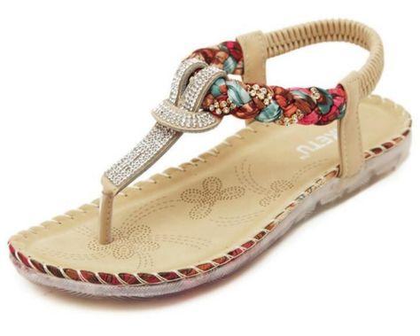 RoseFang Flip Flops Comfortable Sandals Slippers Summer Woman Shoes Women Beach