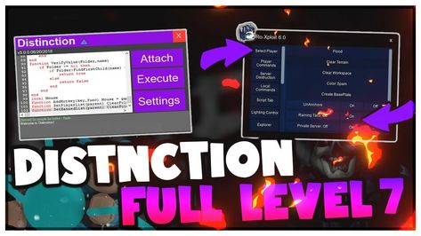 Distinction Level 7 Script Executor Ro Xploit V6 Hack Roblox