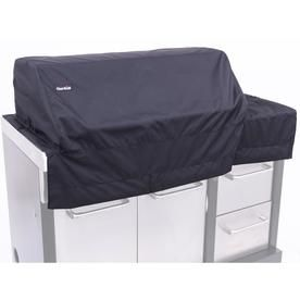 Char Broil 53 In X 22 In Black Polyester Modular Outdoor Kitchen Gas Grill Cover Fits Models Lowes Com Modular Outdoor Kitchens Gas Grill Covers Grill Cover