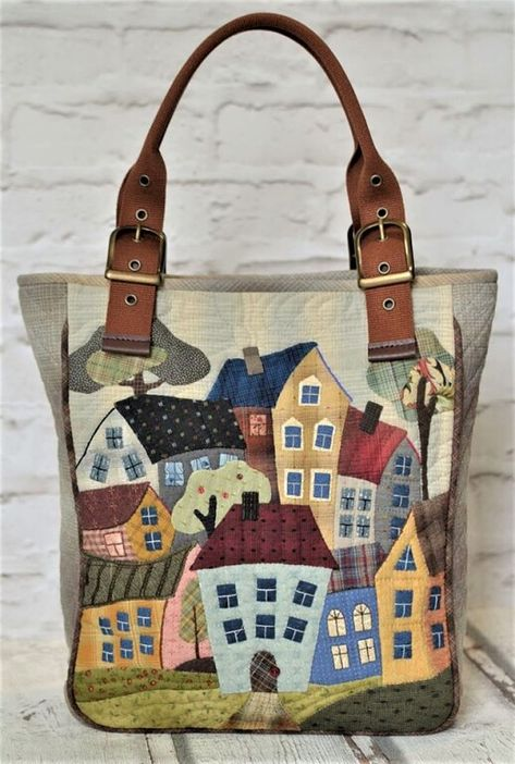 Diy Birthday Gifts For Dad, Diy Bags Purses, Craft Bags, Fabric Bags, Quilted Bag, Zipper Bags, Handmade Bags, Beautiful Bags, Women Bags
