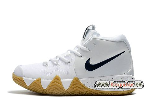 official photos 72176 c7a09 Chaussures BasketBall Nike Kyrie 4 ID Homme Prix Pas Cher Blanc/Noir  943806_ID102