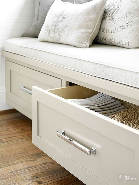 Banquette Benches with Storage