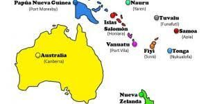 Paises Y Capitales De Oceania Buscar Con Google Oceanía Paises Fiyi