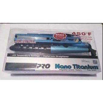 Plancha Nano Titanium En Combo Plancha Rizador Peine 2091t Plancha Nano Titanium Plancha Planchas Para Cabello