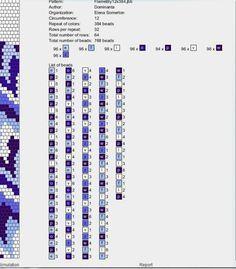 Schlauch 18 Schlauchkette 11 Bis 20 Pinterest Bead Crochet