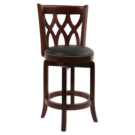 Found It At Wayfair Cathedral 24 Counter Stool In Dark Cherry