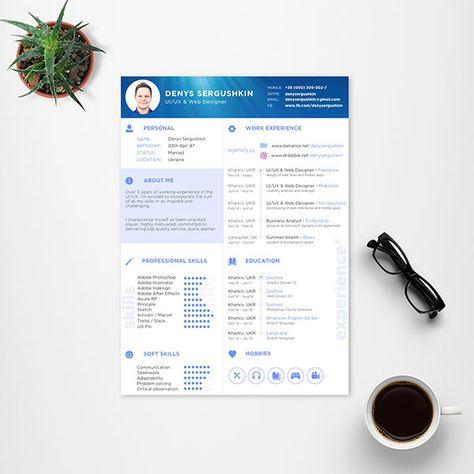 free-resume-template-for-uiux-web-designer-4 Sketch Resume - ui ux resume