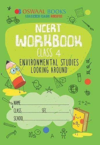 Oswaal NCERT Class 4 EVS Worksheets book Looking Around   Best CBSE