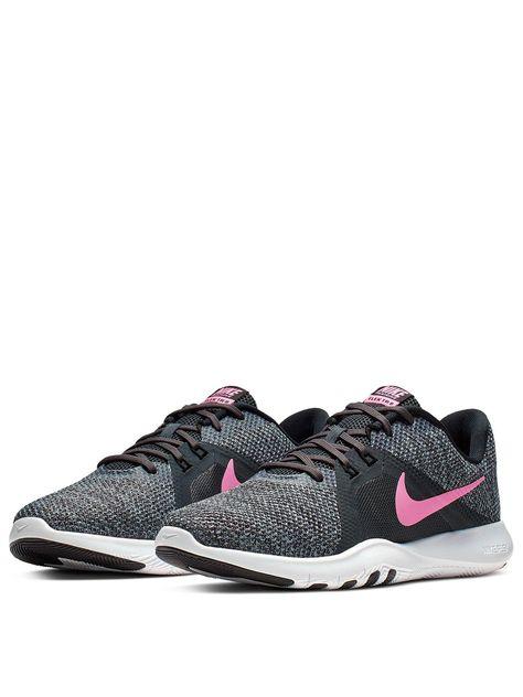 Nike Flex Trainer 8 - Black/Pink in Blk